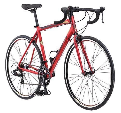 Schwinn Volare 1400 Men's Road Bicycle Matte Red  53cm/Medium Frame Size
