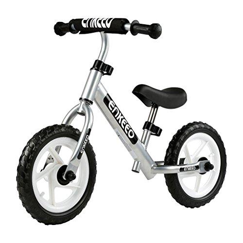 Enkeeo 12 Sport Balance Bike No Pedal Walking Bicycle with Carbon Steel Frame, Adjustable Handle ...