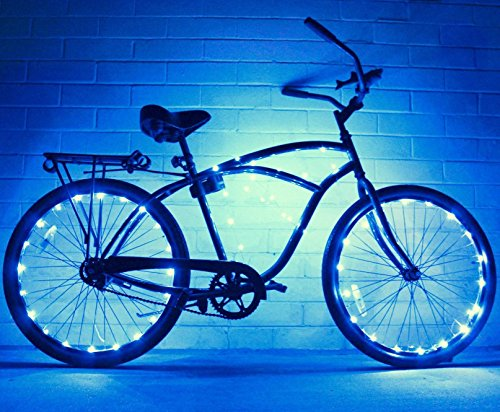 Bike Wheel / Lights – Colorful Light Accessory For Bike – Perfect For Burning Man /  ...