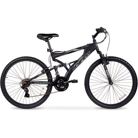 26″ Hyper Havoc Full Suspension Men's Mountain Bike, WMA-102605, Black