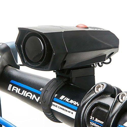 Bike horn,Wallfire Ultra Loud 5 Modes Cycling Horns Bike Bicycle Handlebar Ring Bell Bicycle Horn