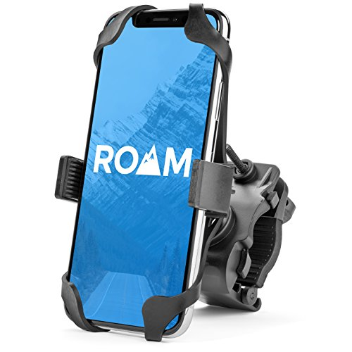Roam Universal Premium Bike Phone Mount for Motorcycle – Bike Handlebars, Adjustable, Fits ...