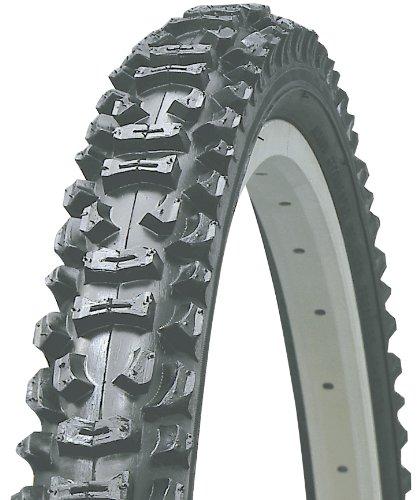 Kenda K816 Aggressive MTB Wire Bead Bicycle Tire, Black skin, 26-Inch x 2.10-Inch