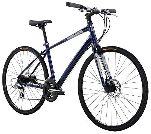 Diamondback Bicycles Insight 2 Complete Hybrid Bike, 18″/Medium, Blue