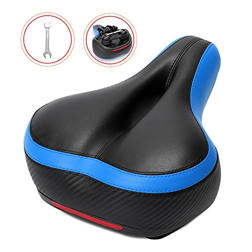 Bike Seat – Inofia Comfort Bicycle Saddle, GEL Memory Foam, Dual Shock Absorbing Ball, Wat ...