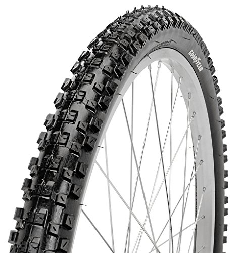 Goodyear Folding Bead Mountain Bike Tire, 26″ x 2.1″, Black