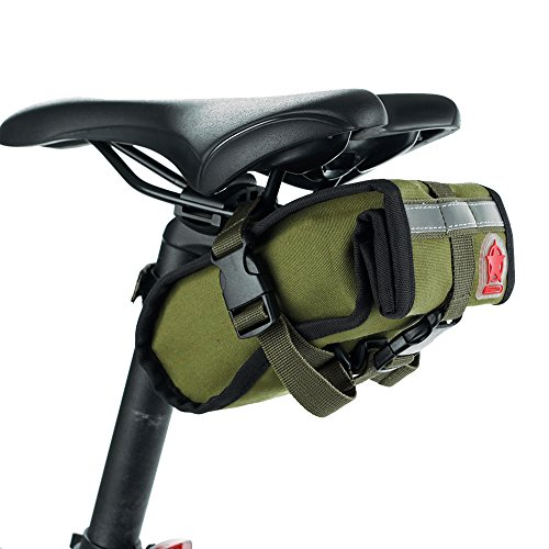 Bicycle Folding bike Cycling Seat Bag Road Bicycle Bike Personalized Canvas Saddle Bag Basket Se ...