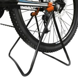 Ibera Easy Utility Bicycle Stand, Adjustable Height, Foldable Mechanic Repair Rack Bike Stand Fo ...