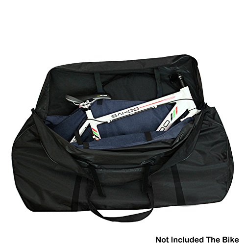 Topnaca MTB Mountain Road Bike Cycling Soft Wheel Carry Bag (Bicycle Carrying Case)