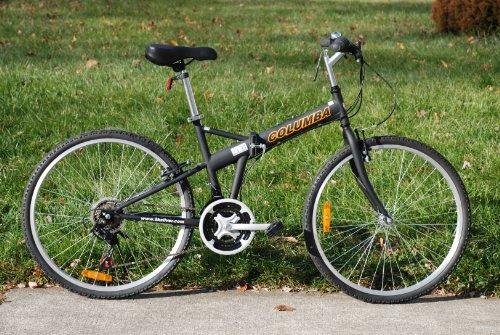 Columba 26″ Folding Bike w. Shimano 18 Speed Black(SP26S_BLK)