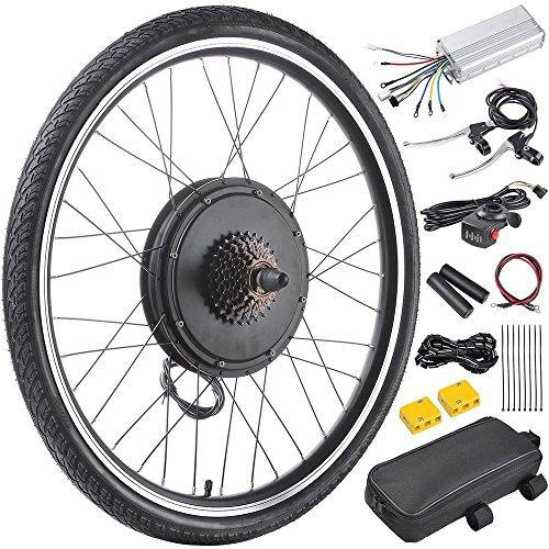 AW 26″x1.75″ Rear Wheel 48V 1000W Electric Bicycle Motor Kit E-Bike Cycling Hub Conv ...