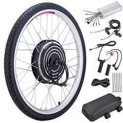 Pinty FT0500 26″ Front Wheel 36V 500W Ebike Hub Motor Conversion Kit with Dual Mode Contro ...