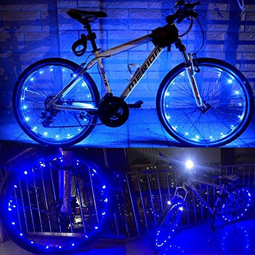 Yacoto LED Bicycle Wheel Light, Waterproof,  2 pack