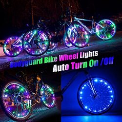 Bodyguard Bike Wheel Lights – Auto Open and Close – Ultra Bright LED – Bike Wh ...