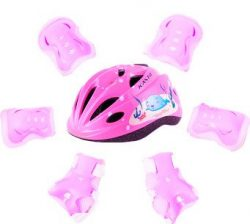 BigBoss Bike Helmets for Kids skateboard protective gear with Protective Gear Set Elbow Pads Kne ...