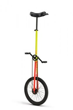 Unistar XL 20, 20inch Wheel Unicycle, Yellow
