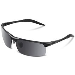 COSVER Men's Sports Style Polarized Sunglasses for Men Driving Cycling Running Fishing Gol ...