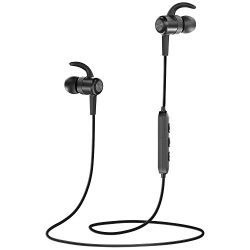 Bluetooth Headphones TaoTronics Wireless Earbuds Sport Earphones 9 Hours 4.2 Magnetic Lightweigh ...