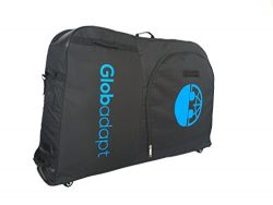 LAUNCH SALE: 5 wheeled bike travel bag   More wheels and straps to pull the bag along instead of ...