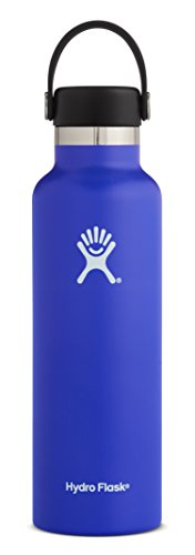 Hydro Flask 21 oz Double Wall Vacuum Insulated Stainless Steel Leak Proof Sports Water Bottle, S ...