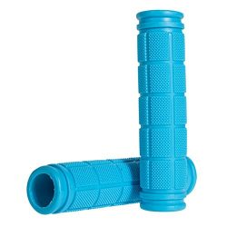 Coolrunner Bicycle Handle Bar Mushroom Grips BMX For Boys and Girls Bikes (Blue)