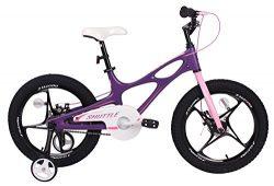 Royalbaby Space Shuttle kid's bike, lightweight magnesium frame with training wheels, 14 i ...