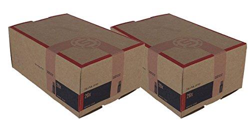 2 PACK – Tubes, 26 x 1.50-1.75 32mm Standard Schrader Valve, by Street Fit 360