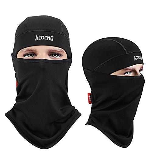 Balaclava Aegend Windproof Ski Face Mask Winter Motorcycle Neck Warmer Tactical Balaclava Hood P ...