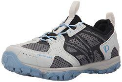 Pearl Izumi Women's W X-ALP Drift IV Cycling Shoe, Black/Dusk Blue, 38 EU/6.8 B US