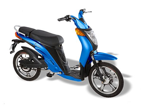 Jetson Lithium Ion Powered Eco-Friendly Electric Bike – Blue