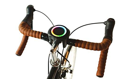 SmartHalo Premium Pack   Smart Bike Accessory Cycling Computer With Light, GPS & Navigation, ...