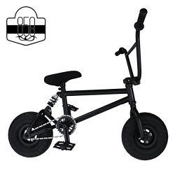 Mini BMX Freestyle Bike – Light Fat Tires With 3pce Crank & Spring Accessories For Pro To Be ...