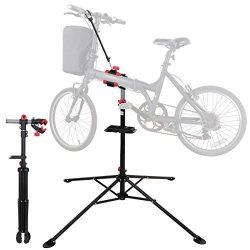 ZENY Pro Mechanic Bike Repair Stand 360 Degree Rotate Adjustable Height Bicycle Maintenance Rack ...