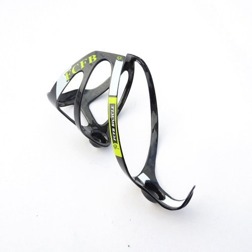 FCFB green water bottle cage weight 16-19g ud carbon bike water holder road bike mountain bike cage