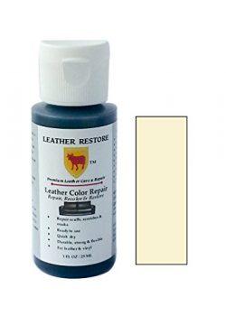 Leather Restore Leather Color Repair, VANILLA CREAM, 1 OZ Bottle – Repair, Recolor & R ...