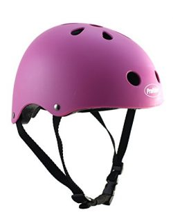 ProRider BMX Bike & Skate Helmet – 3 Sizes Available: Kids, Youth, Adult (Pink, Small/ ...