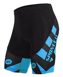 Padded Biking Shorts Bike Short Pants Cycle Bottoms Riding Clothing Bicycling Tights Asian XXL/  ...