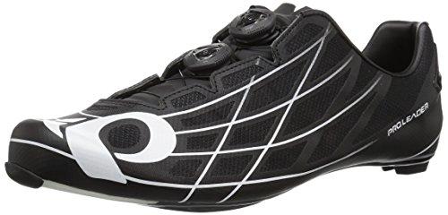 Pearl iZUMi Pro Leader Iii Cycling-Footwear, Black/White, 49 EU/14 M US
