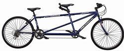 J Bikes by Micargi Sport, Blue – 26″ 21-Speed 2-Seater Tandem Bicycle