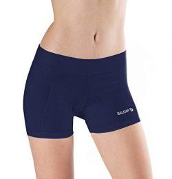 Baleaf Women's 3D Padded Cycling Brief Underwear Shorts Navy Size S