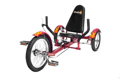 Mobo Triton (Red) The Ultimate 3 wheeled Cruiser (16″) ���