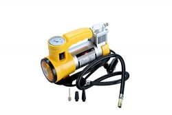 LineCub 12V 150 PSI Portable Air Compressor Pump, Inflator Kit for Car, Ball, Bicycle and Other
