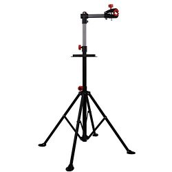 Hromee Portable Bike Repair Stand,Adjustable Height Bicycle Maintenance Rack Workstand With Tool ...