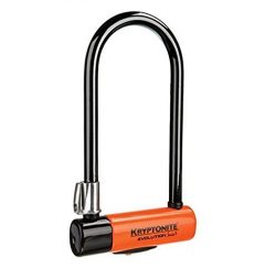 Kryptonite Evolution Series 4 Standard Heavy Duty Bicycle U Lock Bike Lock (4-Inch x 9-Inch)