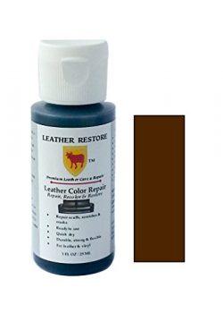 Leather Restore Leather Color Repair, DARK BROWN, 1 OZ Bottle – Repair, Recolor & Rest ...