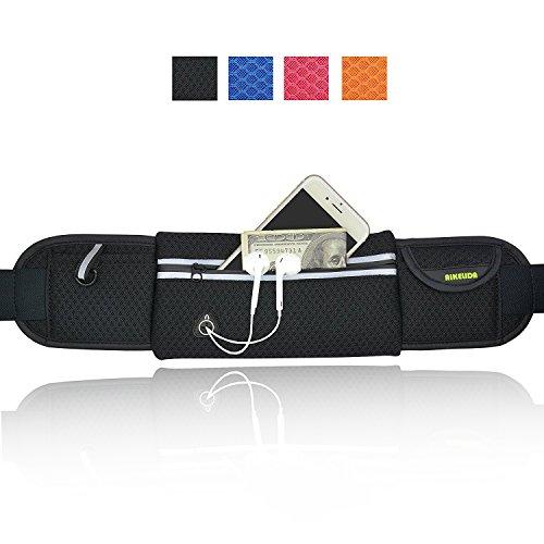 AIKELIDA Running Belt / Runner Waist Pack / Running Gear Bag / Runners Belt for iPhone , Samsung ...
