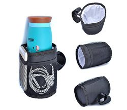 Pawaca Multifunctional Waterproof Thermal Insulated Bottle Holder Pocket Organizer for Baby Stro ...