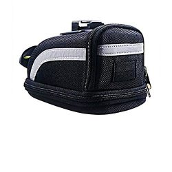 Bicycle Strap-On Bike Saddle Bag – Seat Packs / Outdoor Cycling Bag / Waterproof Storage B ...