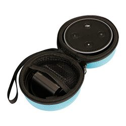 Echo Dot Case Travel Portable Protective Carrying Hard Case Box for All-New Echo Dot(2nd Generat ...