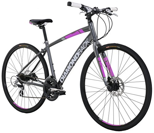 Diamondback Bicycles Women's  Clarity 2 Complete Performance Hybrid Bike
